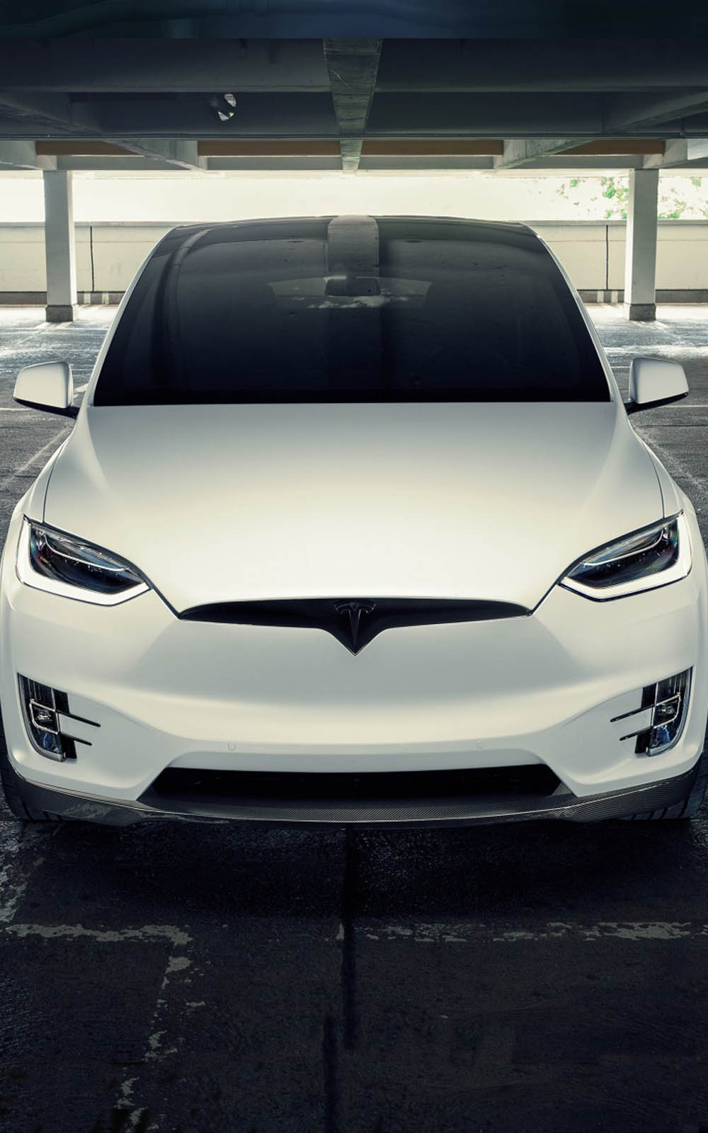 Download Novitec Tesla Model X 2017 Pure 4K Ultra HD Mobile 1000x1600