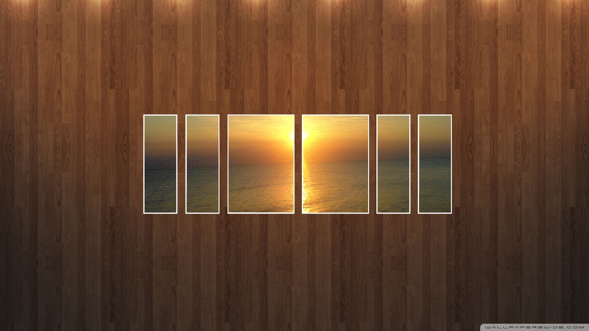 Wood Wall Wallpaper 1920x1080 Sunset Beach Picture Wood Wall 1920x1080