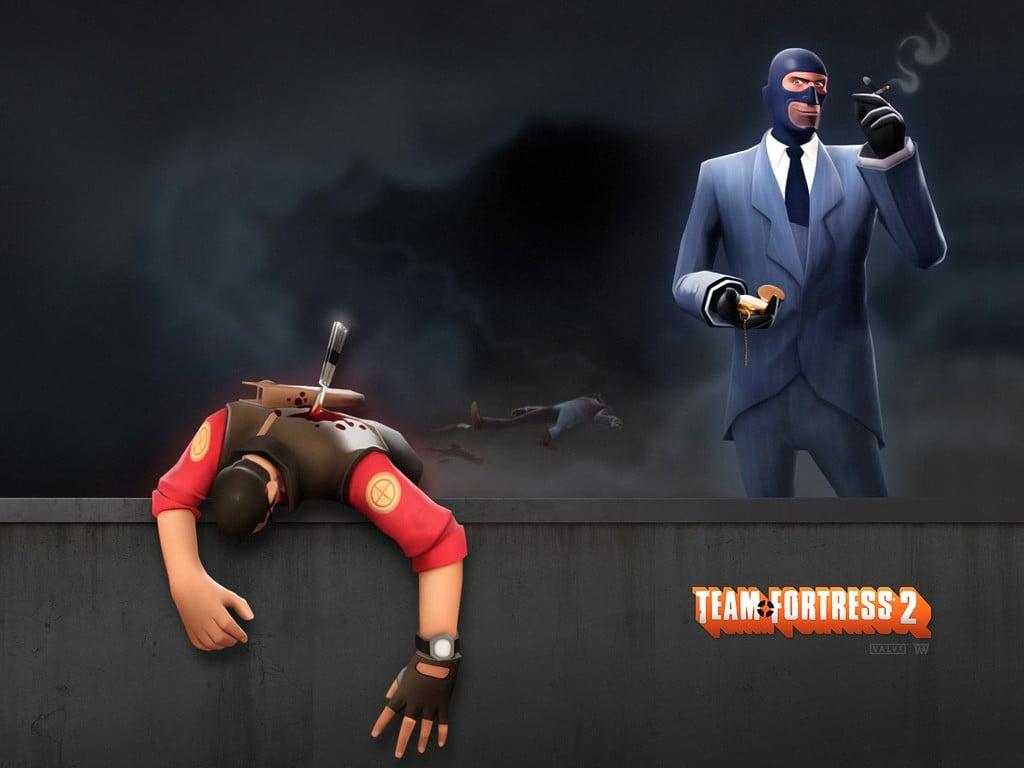 Spy TF2 Wallpaper 1024x768 Spy TF2 Team Fortress 2 Sniper TF2 1024x768