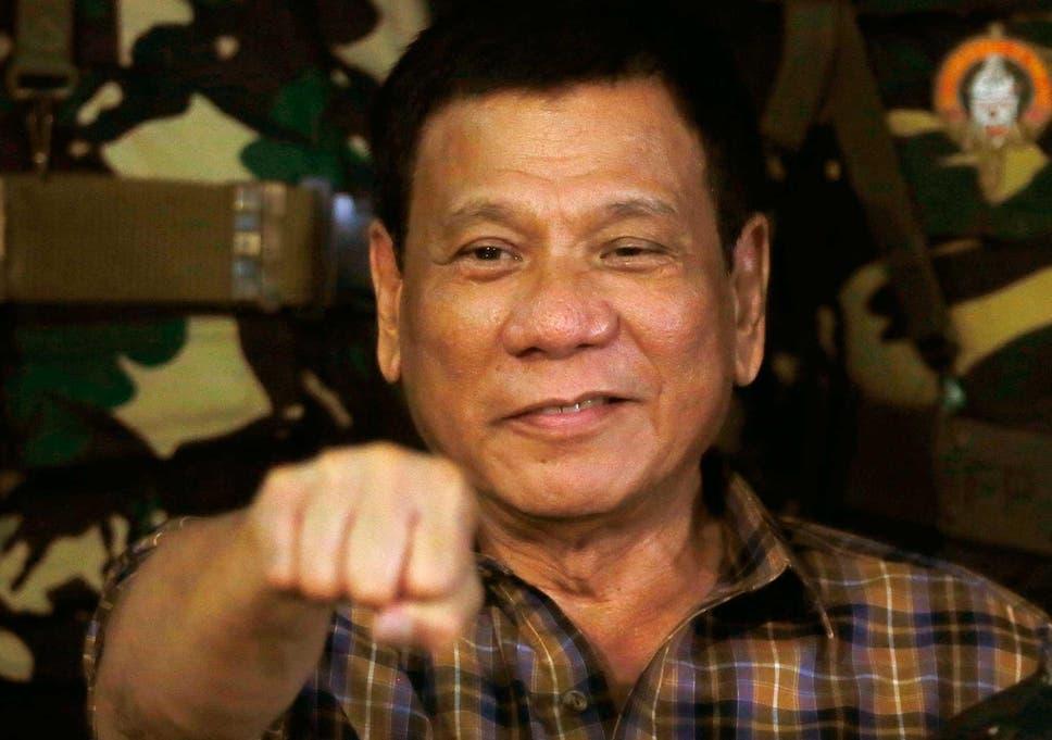 Philippines president Rodrigo Duterte is a psychopath says 968x681