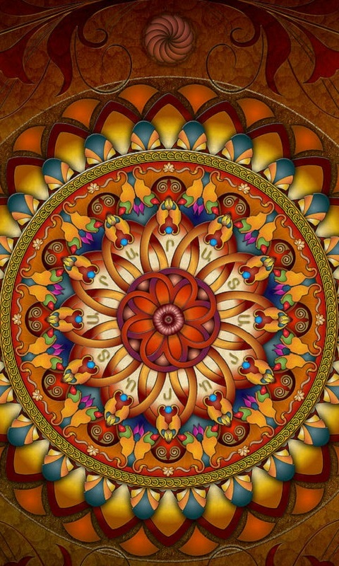 Mandala 3d Live Wallpaper   Android Apps on Google Play 480x800