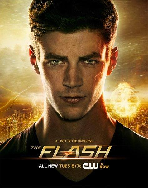 DC superhero show The Flash featuring Grant Gustin as Barry Allen 475x600