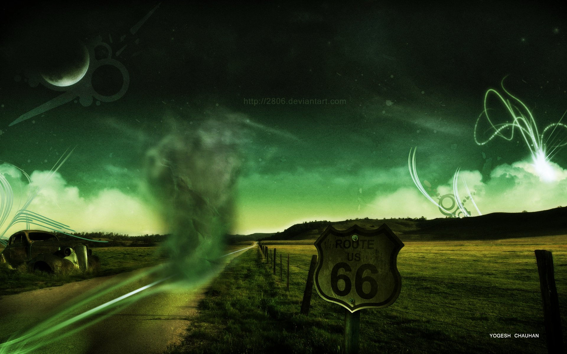 Route 66 by 2806 1920x1200