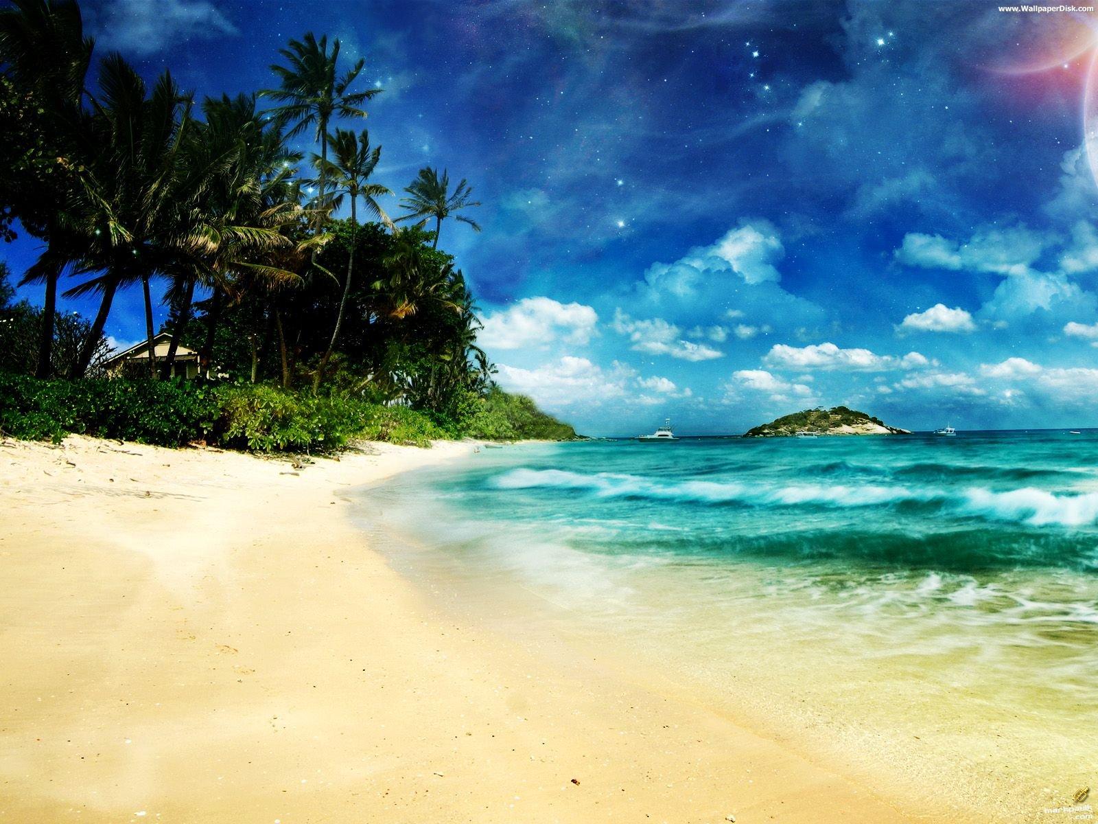 Download ocean beach Wallpaper 1600x1200