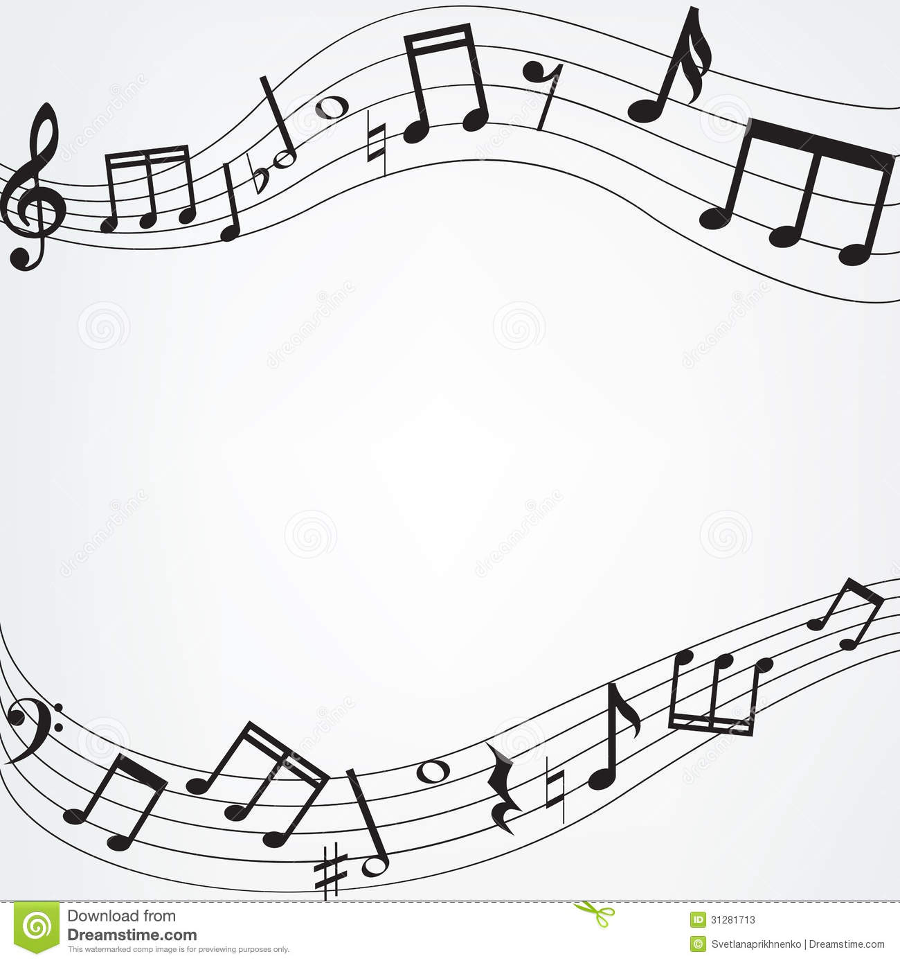 Free Download Music Note Wallpaper Border 1300x1390 For Your