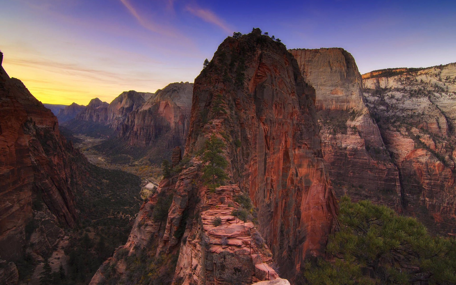 zion national park Scenery HD Wallpaper 1920x1200 1920x1200