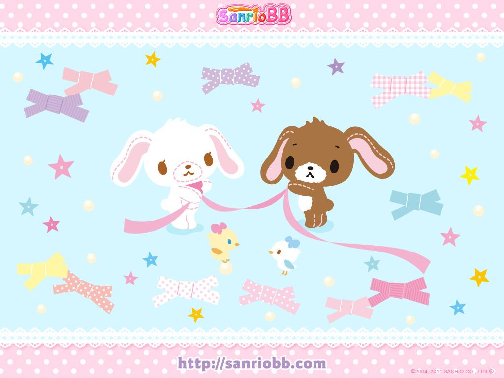 Sugar Bunnies Wallpaper Sanrio Wallpapers Kawaii Images   Frompo 1024x768