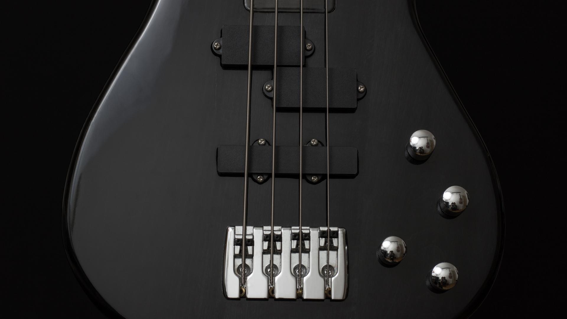 Bass Guitar Wallpaper Download 1920x1080