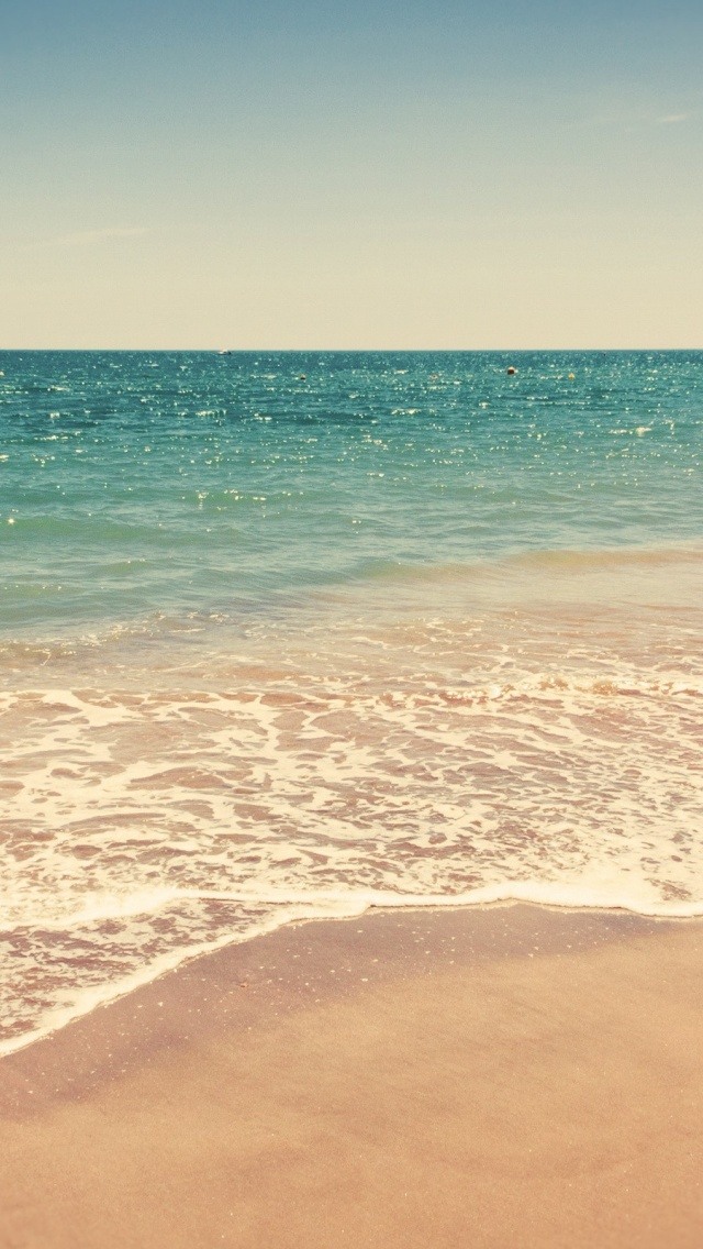 Free Download 640x1136 Clean Beach Iphone 5 Wallpaper