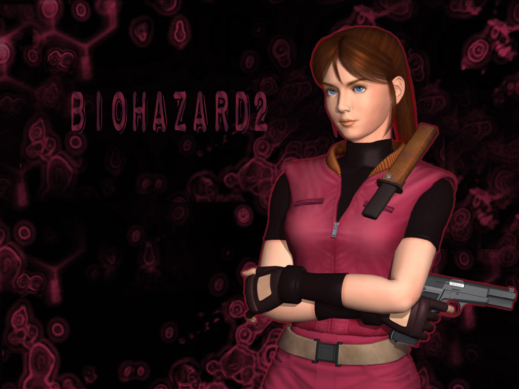 Resident Games Claire Redfield 1024x768