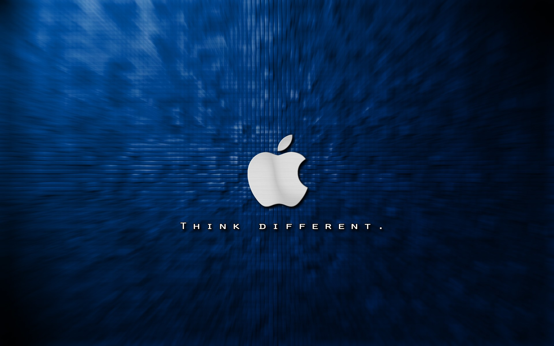 Apple Logo Wallpapers Blue HD Wallpaper of Logo   hdwallpaper2013com 1920x1200