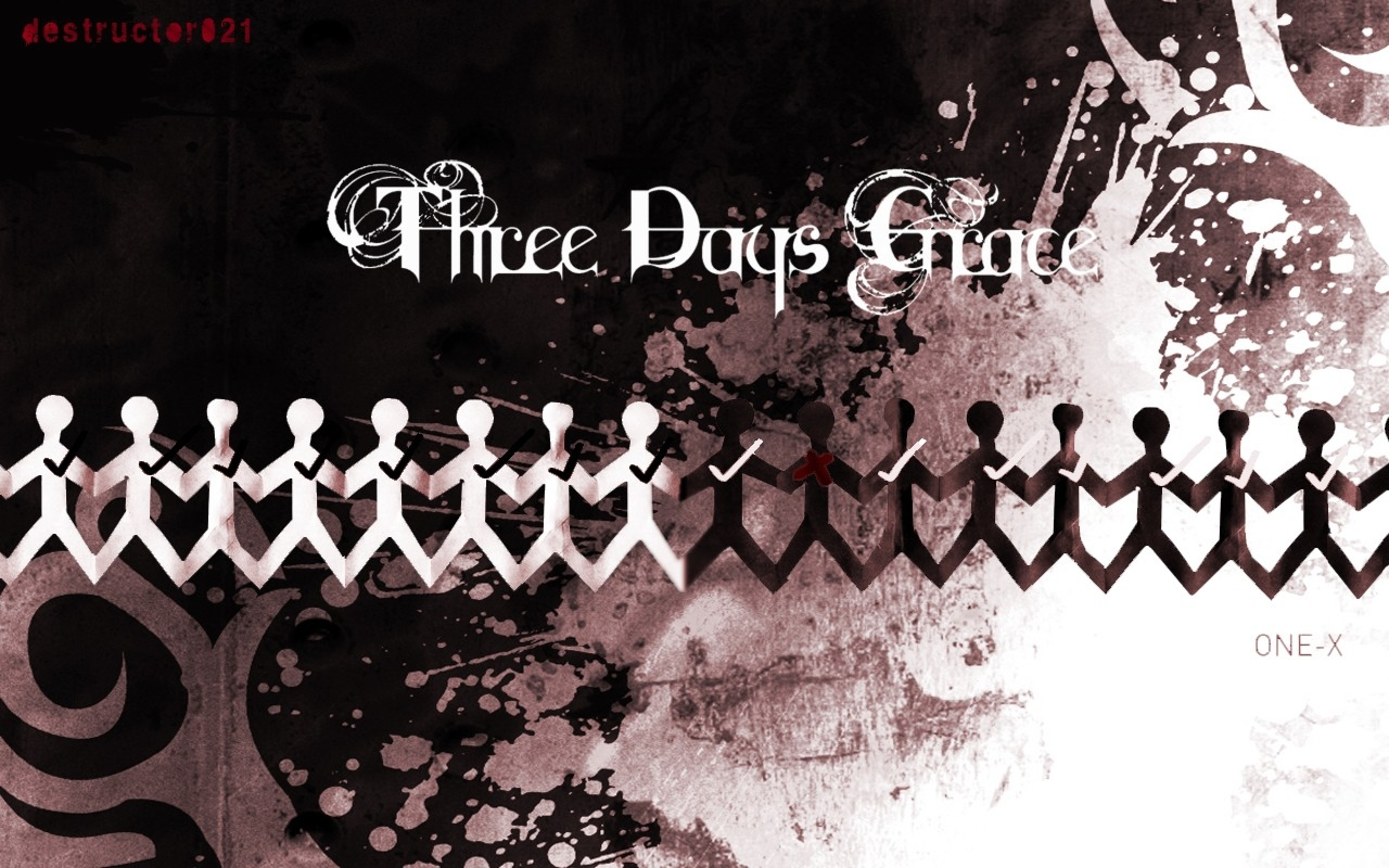 wwwwallpaperhicomEntertainmentMusicrock music three days grace 2560x1600