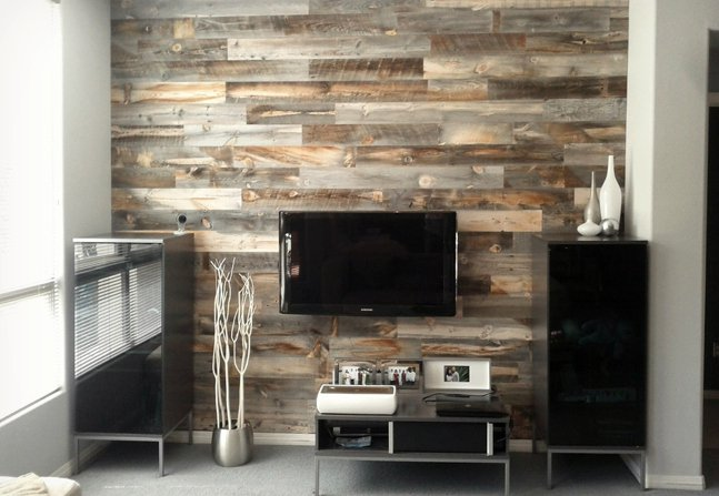 Peel and Stick Wood Wall Decor Backsplash Cool Material 647x447