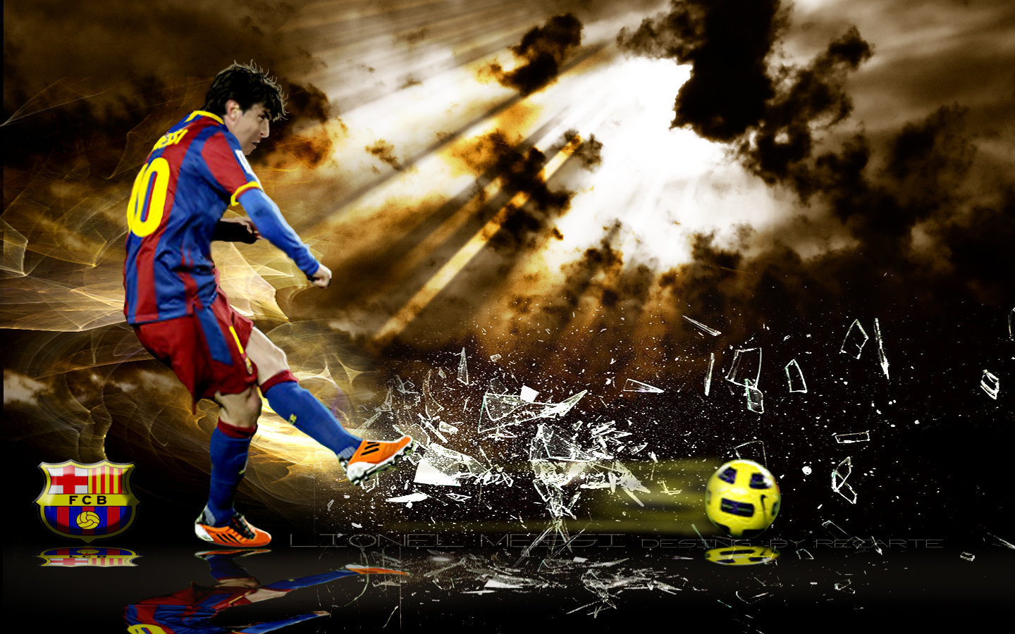 Lionel Messi FC Barcelona 2013 HD Wallpapers All About HD Wallpapers 1440x900