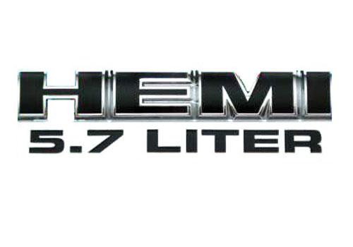 Mopar OEM Dodge Ram 57L Hemi Emblem   AutoTruckToys 500x350