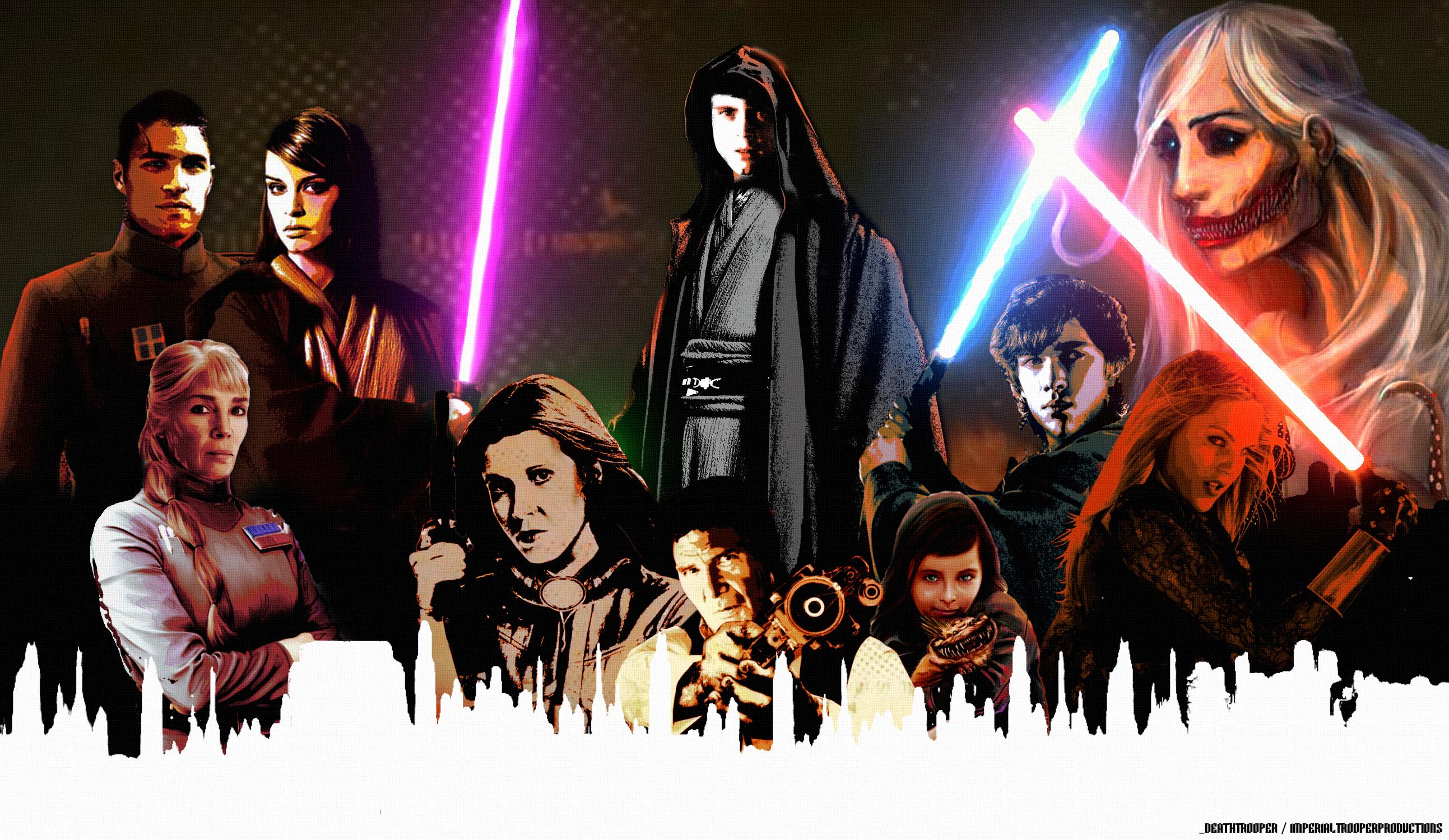 Fate of the Jedi Wallpaper StarWarsEU 2586x1500