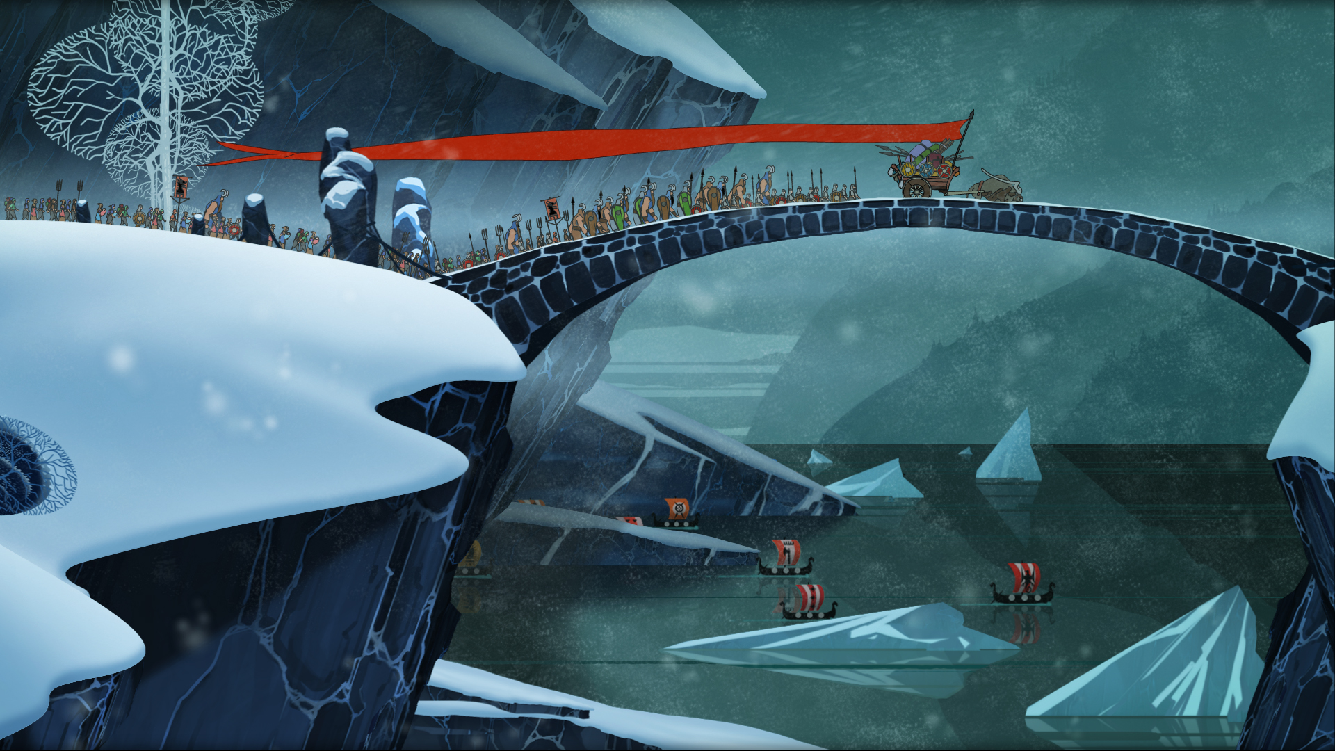 The Banner Saga Armikrog And Kyn Confirmed For PS4 1920x1080