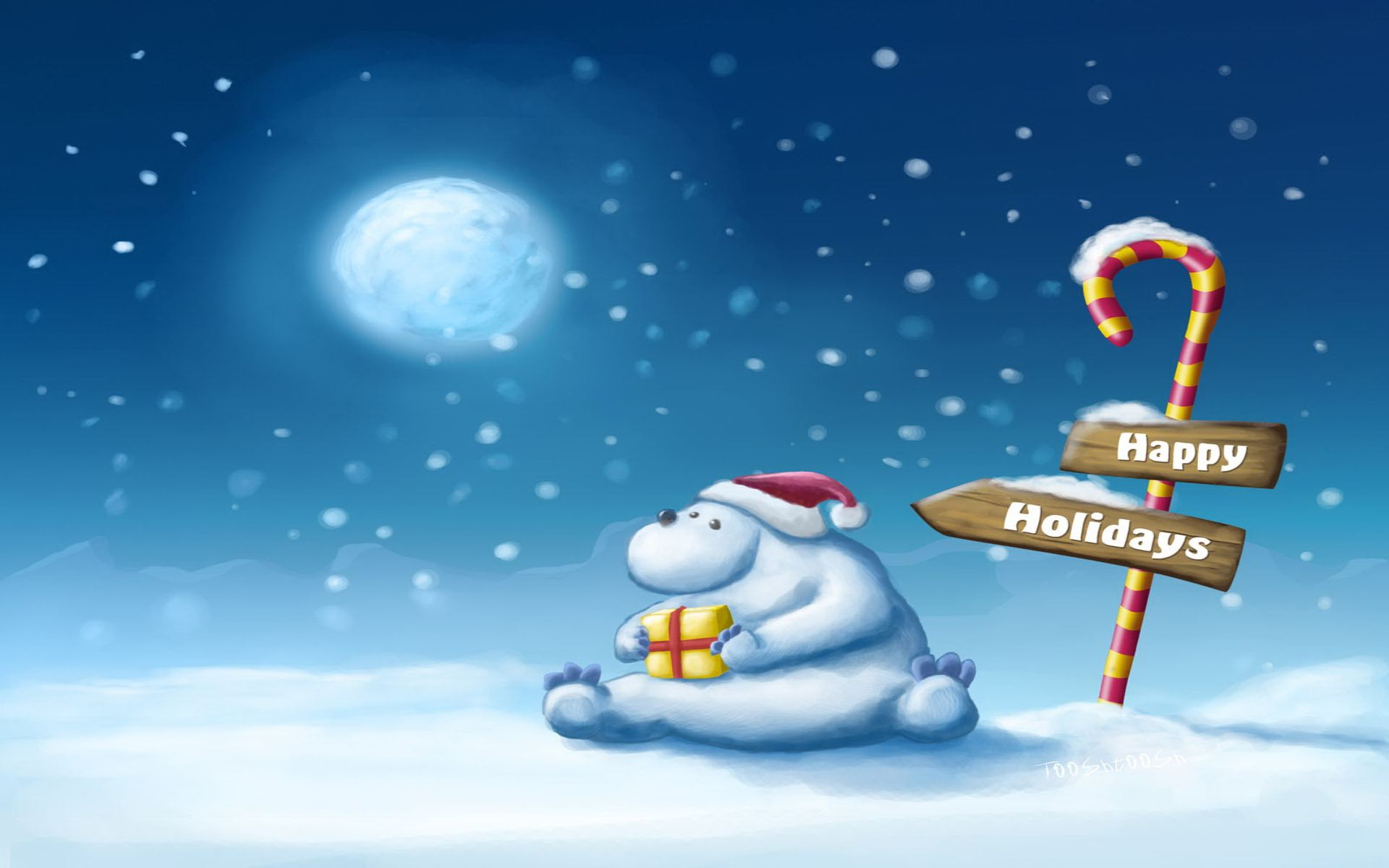 65 Winter Holiday Backgrounds On Wallpapersafari