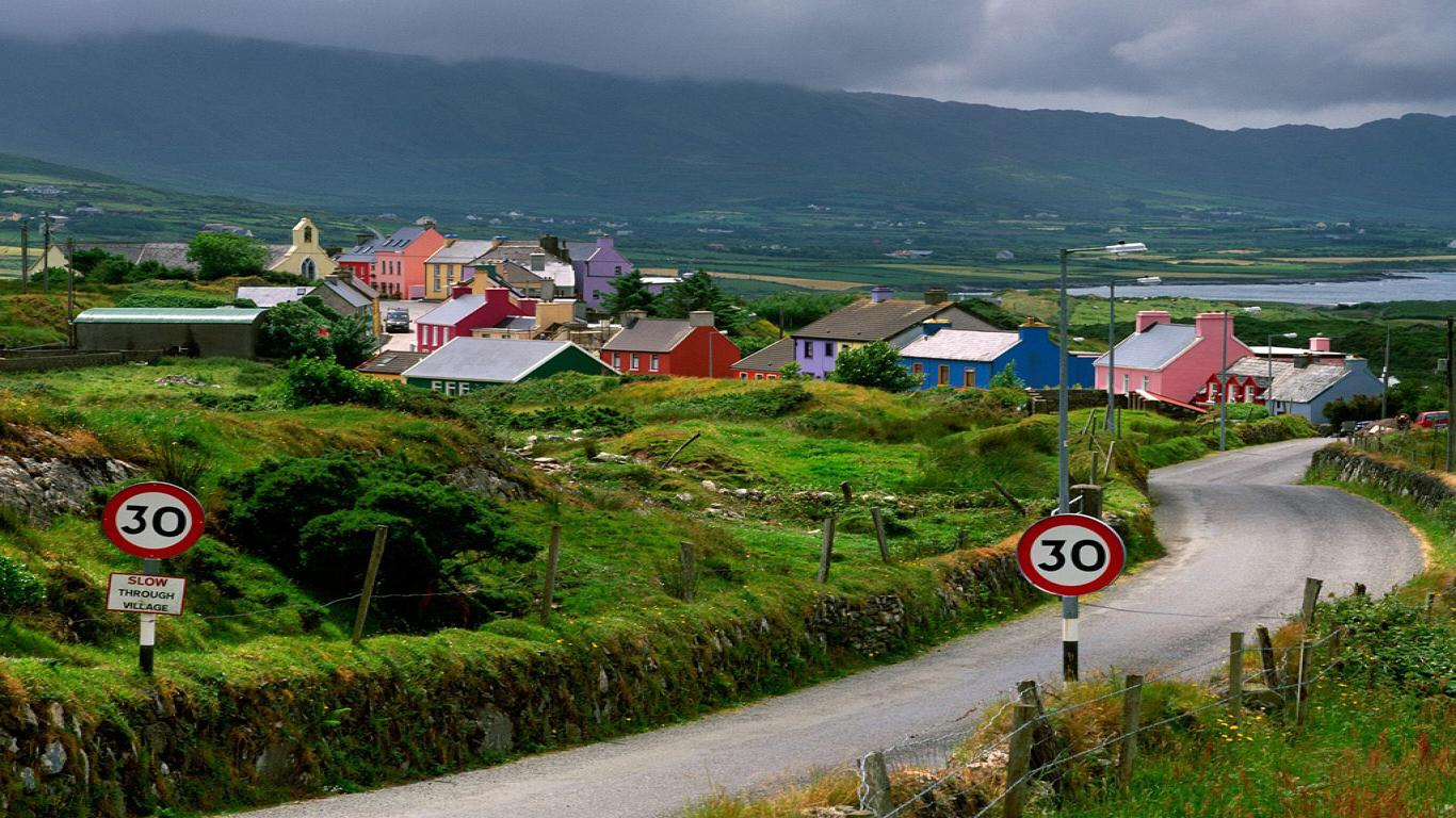 HD Wallpapers Desktop Ireland Country HD DeskTop Wallpapers 1366x768