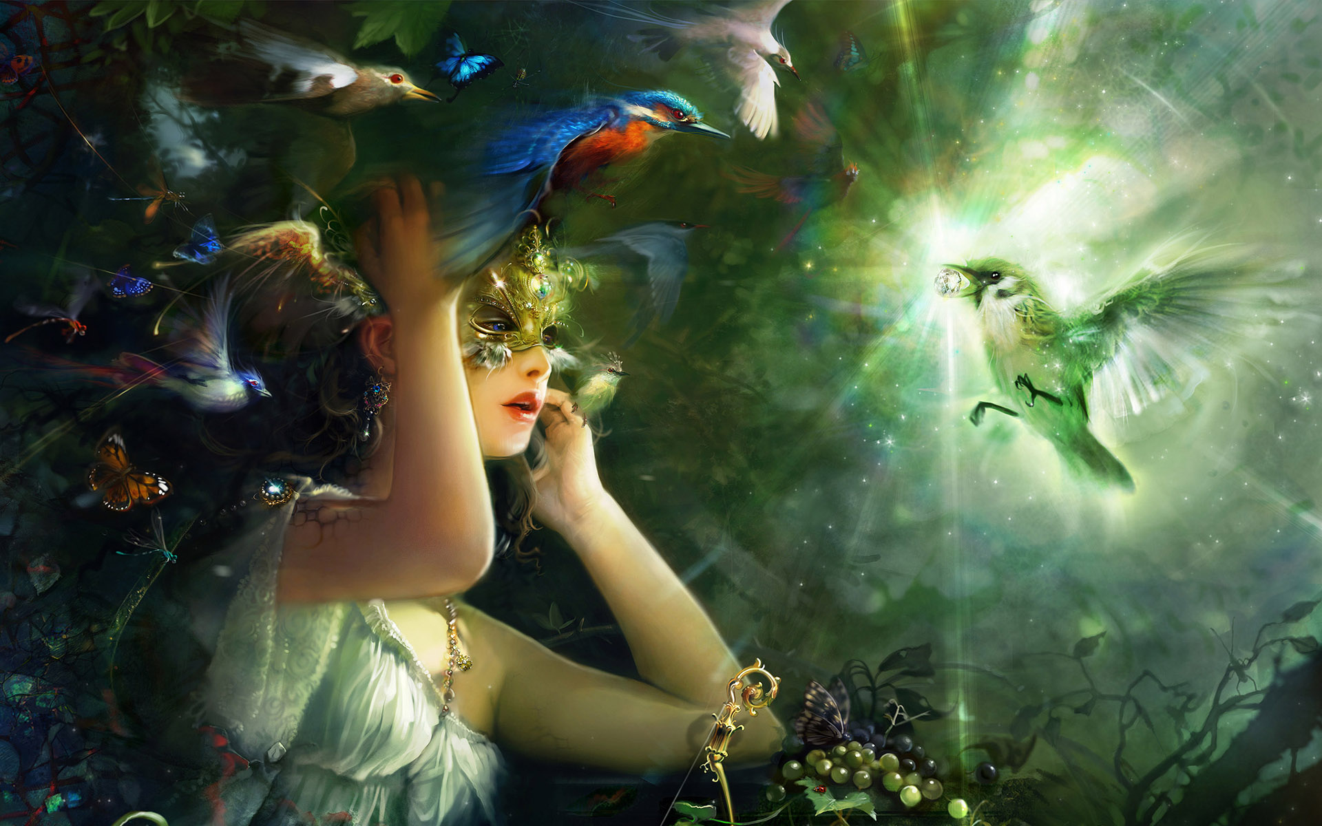 Fairy background Fairies wallpapers 1920x1200