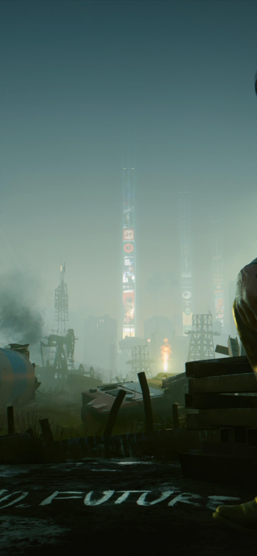 Download 1284x2778 Keanu Reeves Cyberpunk 2077 Futuristic Game 1284x2778