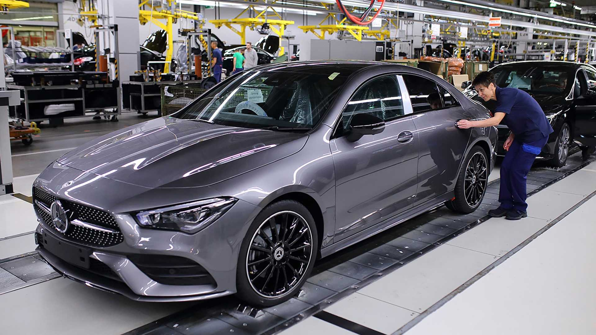 2020 Mercedes Benz CLA Class Production Motor1com Photos 1920x1080