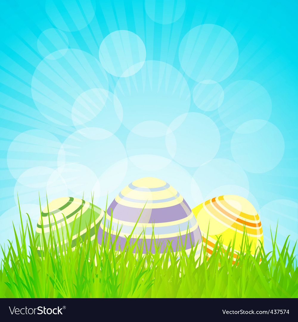 Easter backgrounds Royalty Vector Image   VectorStock 1000x1080
