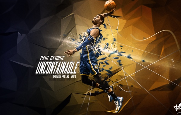 Wallpaper paul george paul george indiana pacers indiana pacers 596x380