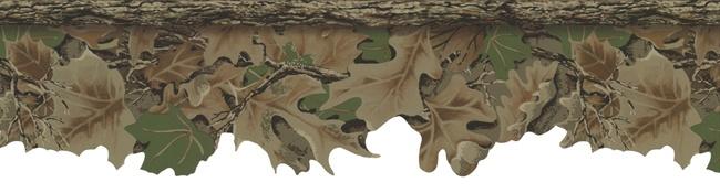 Realtree Advantage Camo Wallpaper Border for hunting room 650x175
