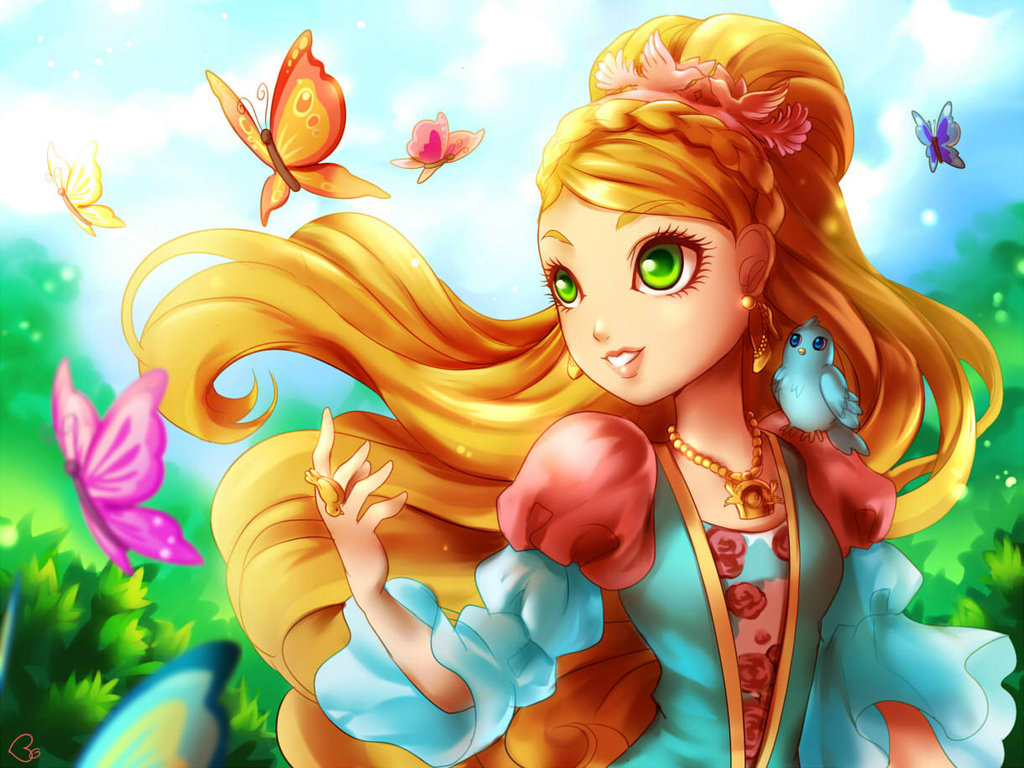 How to Look Like Ashlynn Ella from Ever After High 1024x768