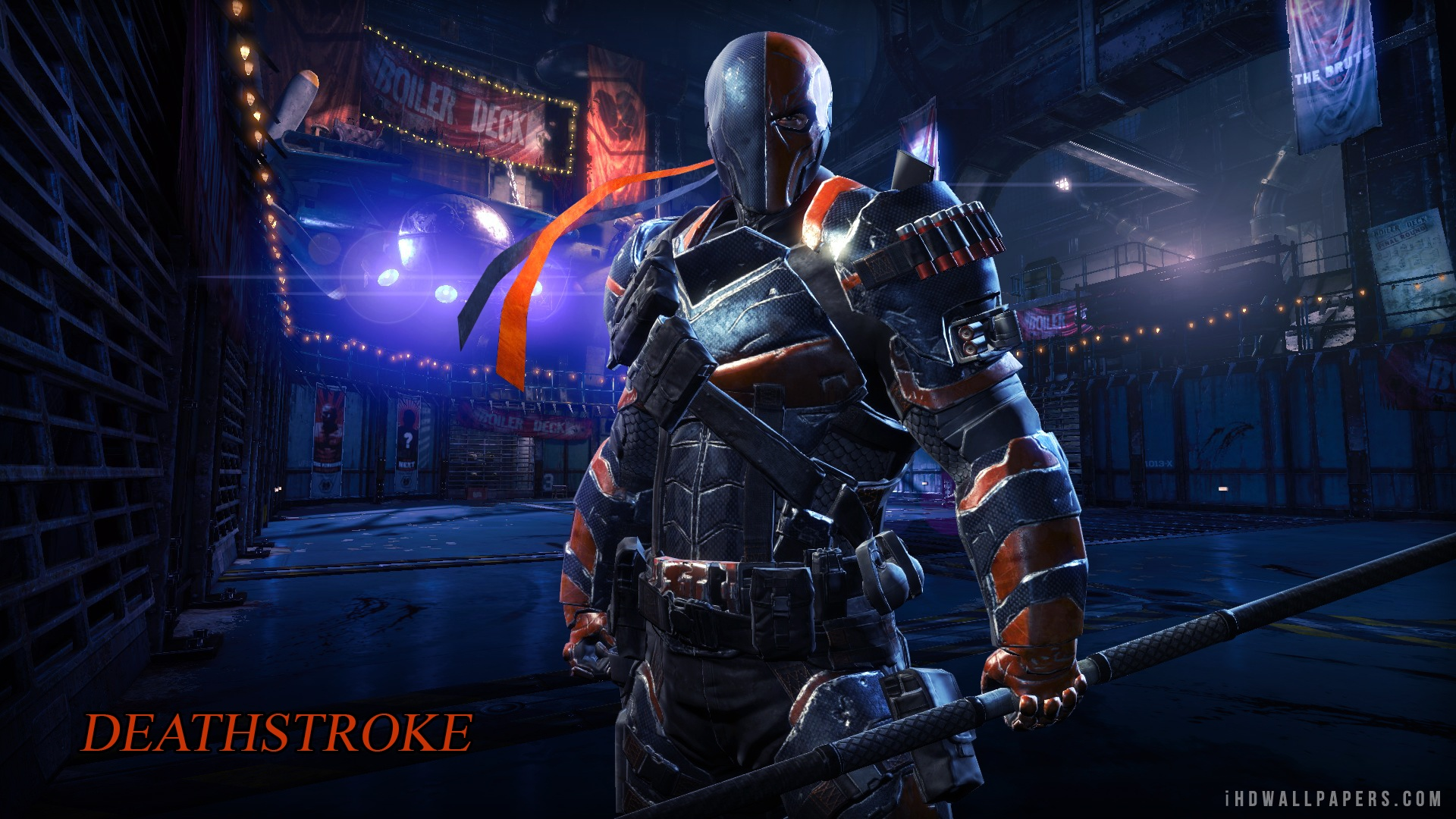 Deathstroke Arrow Wallpaper Hd 1920x1080