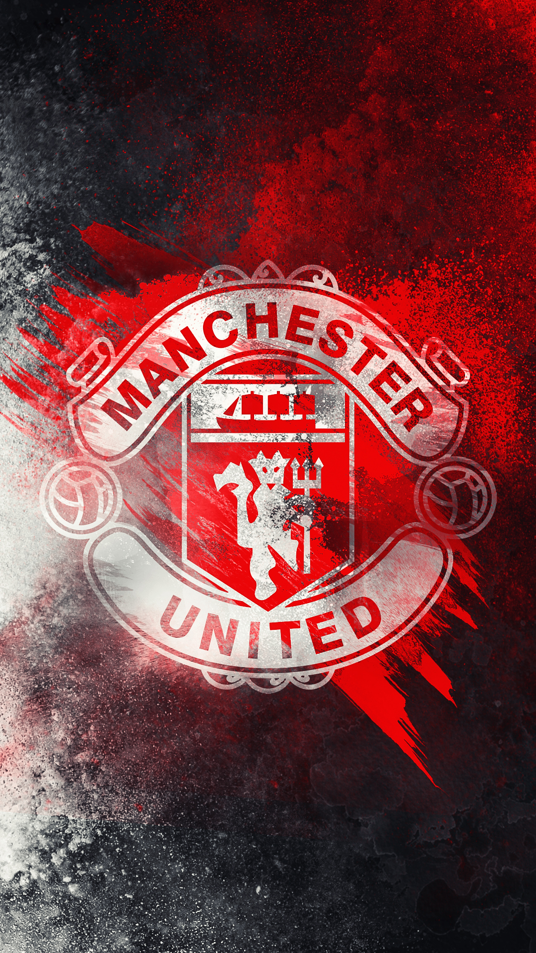 Manchester United   HD Logo Wallpaper by Kerimov23 1080x1920