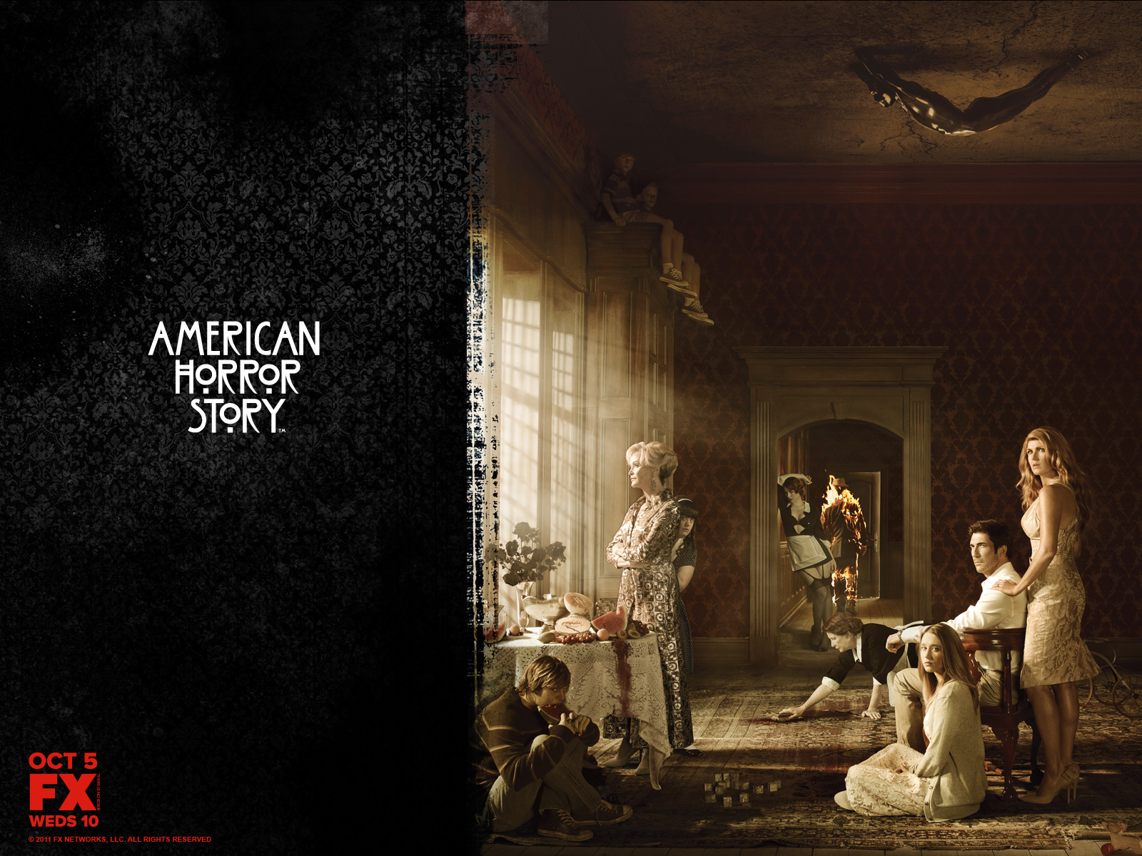 American Horror Story Wallpapers - WallpaperSafari