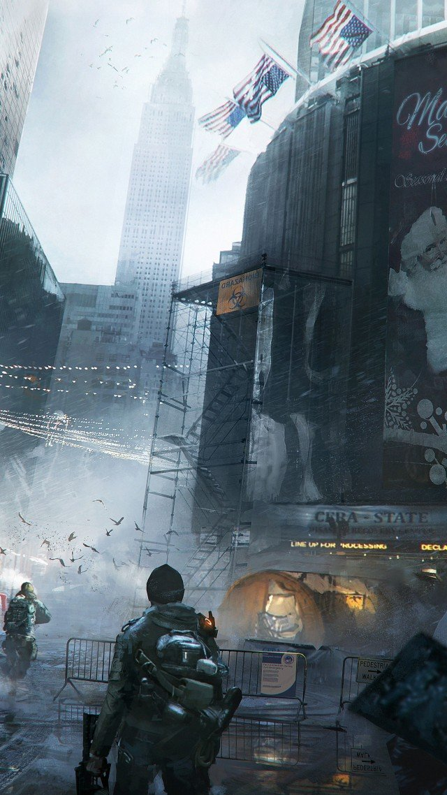 Free Download The Division Wallpaper Games Action The