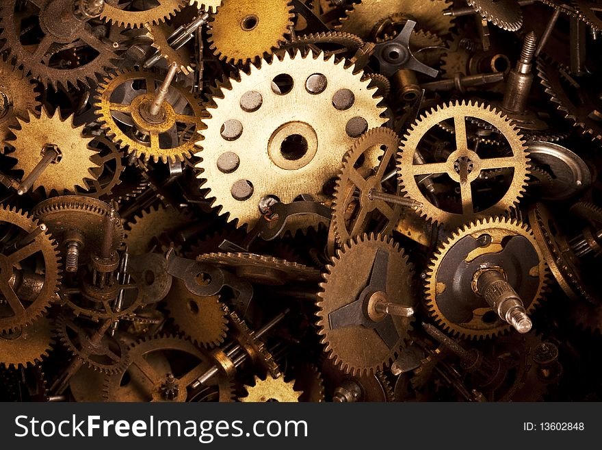 Gears Background   Stock Images Photos   13602848 880x657