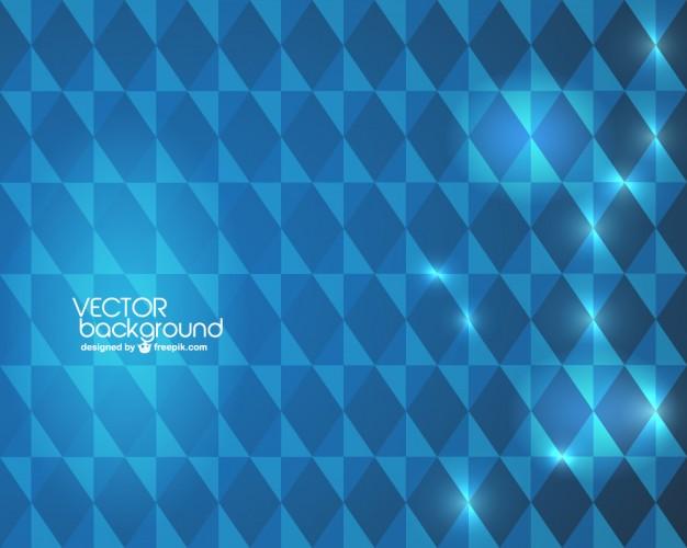 Blue geometric wallpaper Vector Download 626x500