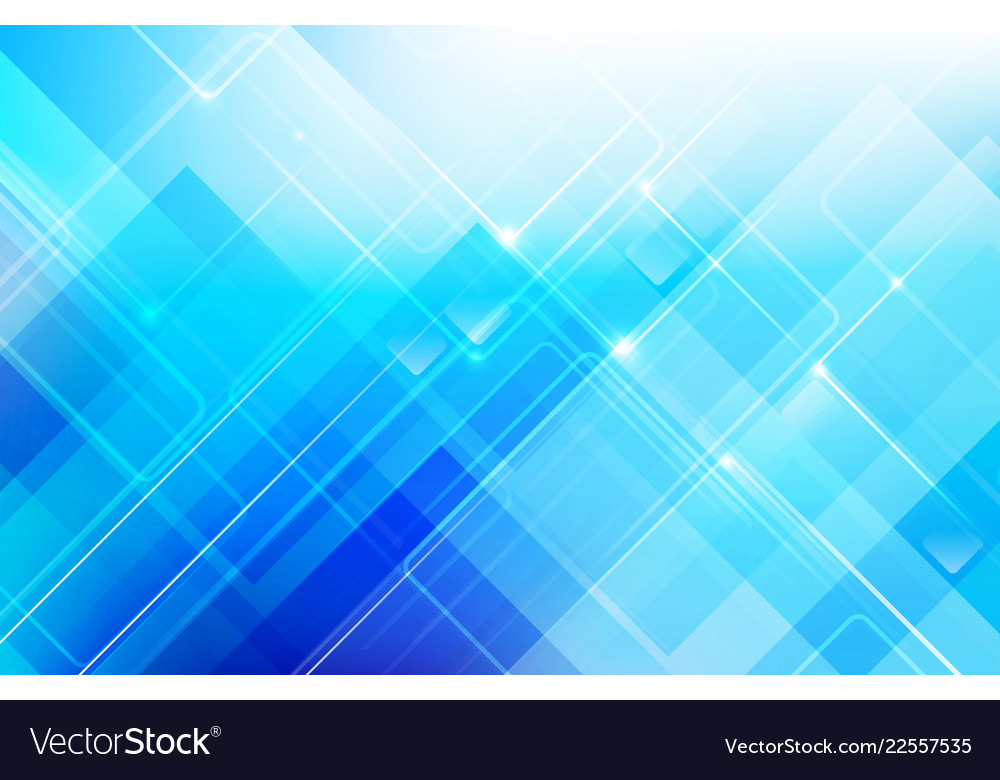 Abstract blue background with basic geometry Vector Image 1000x780
