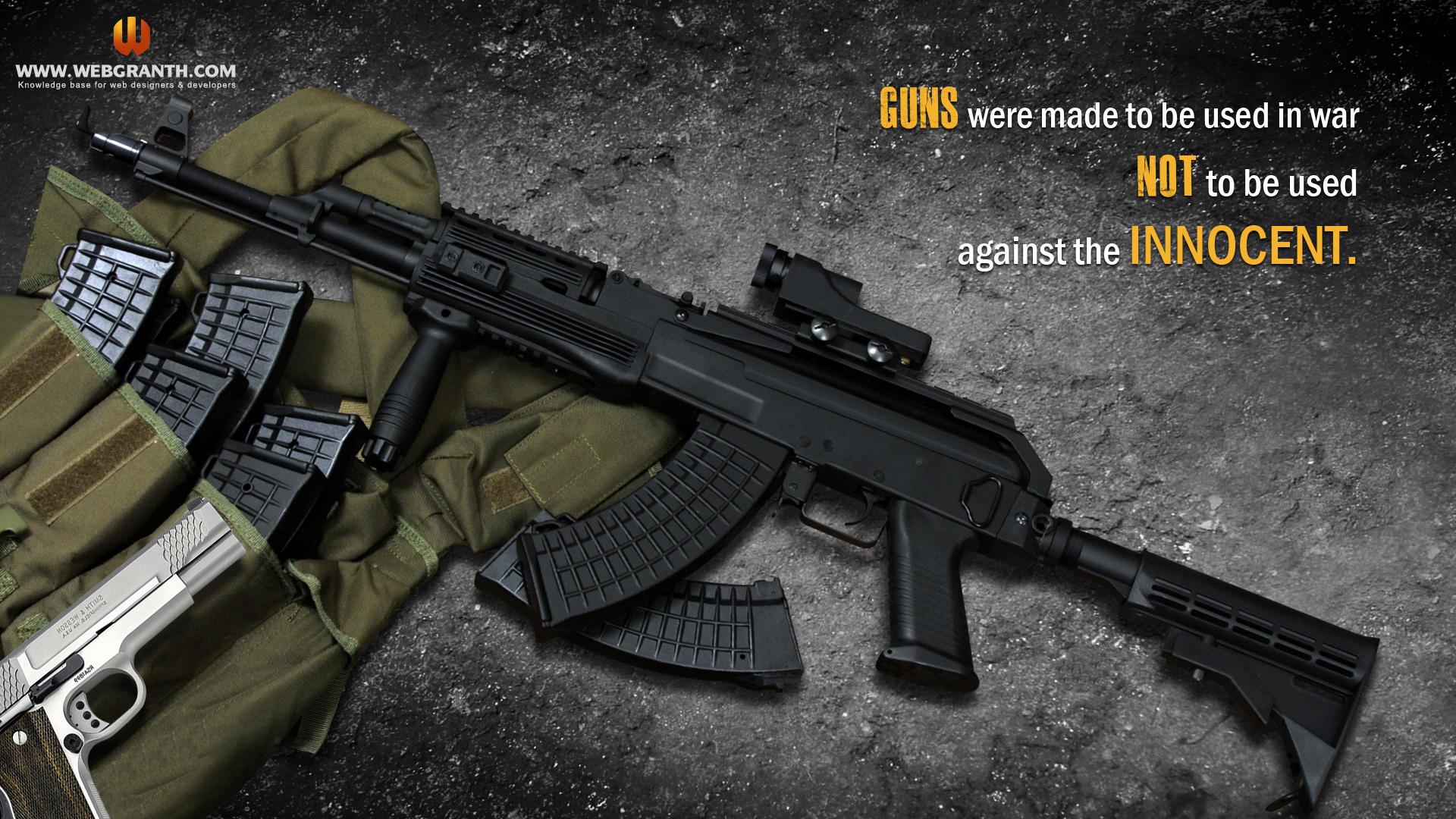 Gun Wallpaper Android Download: Gun Wallpapers For Desktop