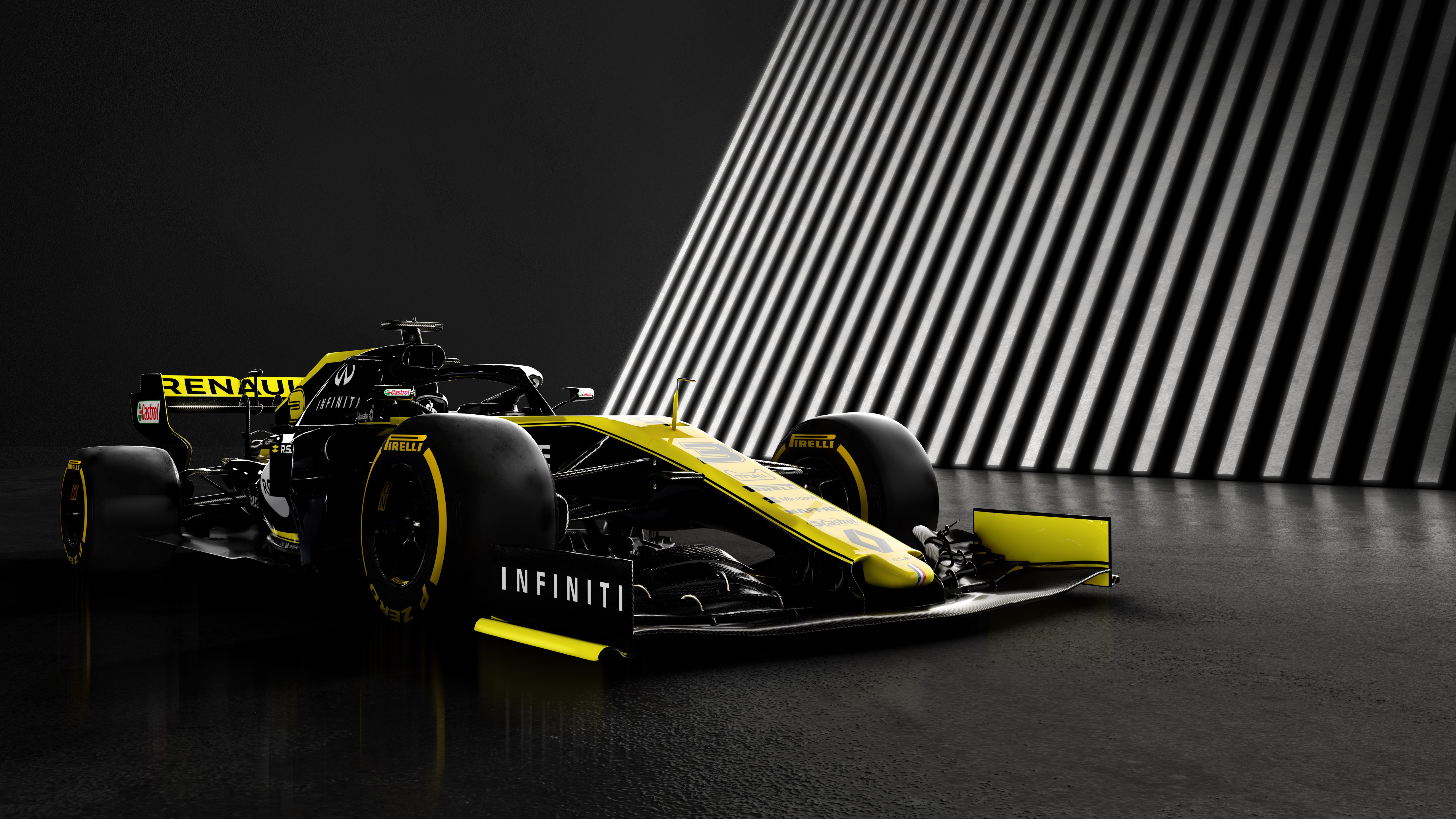Renault RS19 5k Retina Ultra HD Wallpaper Background Image 5120x2880