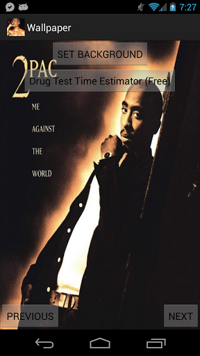 Tupac Live Wallpaper Thug Life for android Tupac Live Wallpaper Thug 288x512