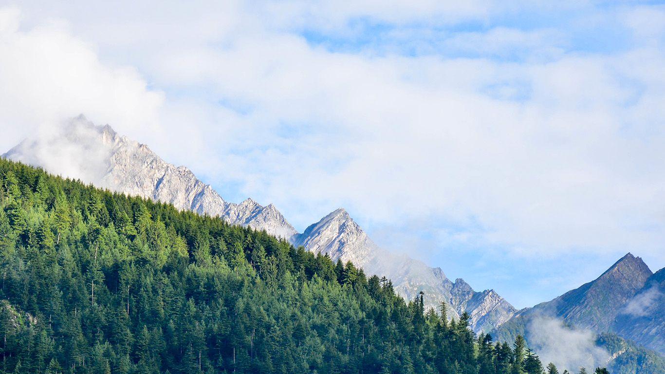 desktop wallpaper laptop mac macbook air mt63 nature mountain sky 1366x768