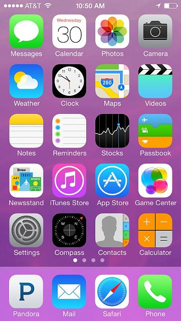 Show us your iPhone 5C Homescreen   iPhone iPad iPod Forums at 361x640