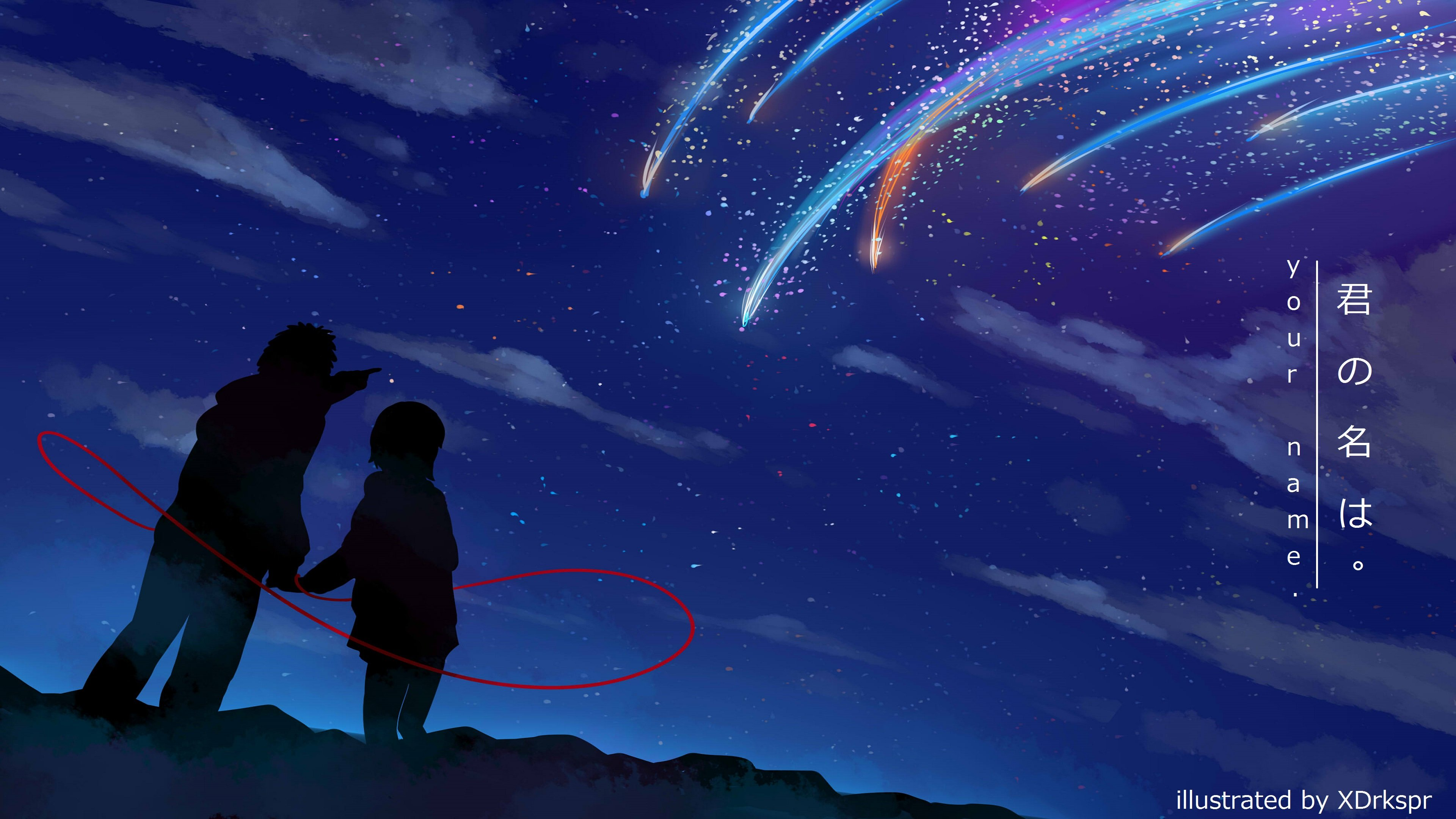 175 4K Ultra HD Your Name Wallpapers Background Images 3840x2160