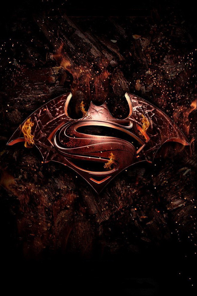 Batman vs Superman Movie Wallpaper   iPhone Wallpapers 640x960
