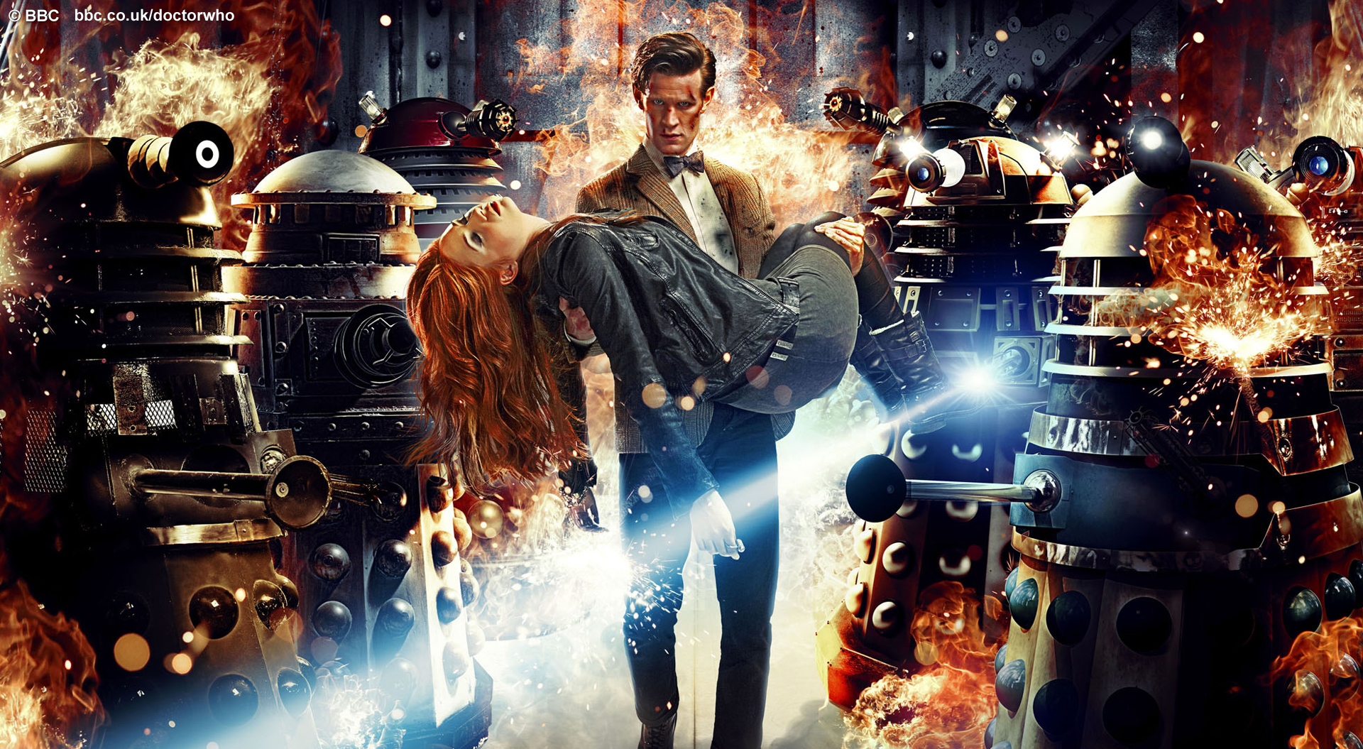 Cool New Doctor Who Wallpaper from the BBC Ace Comics UK and 1920x1055
