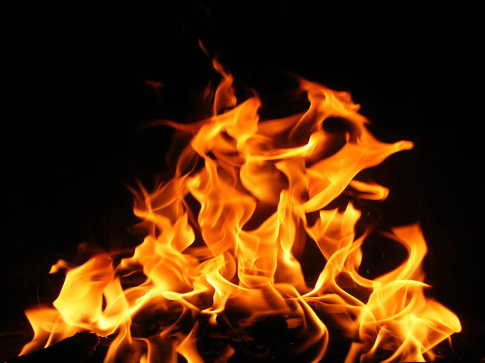 Pictures Fire Flames Wallpapers Fire Flames Backgrounds for 1600x1200