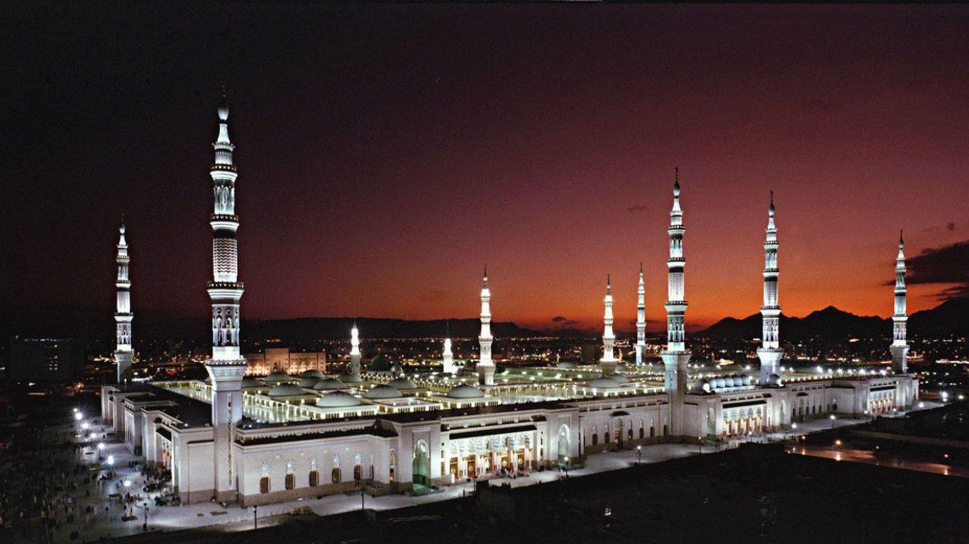 Mecca Masjid Wallpaper View All 1366x768