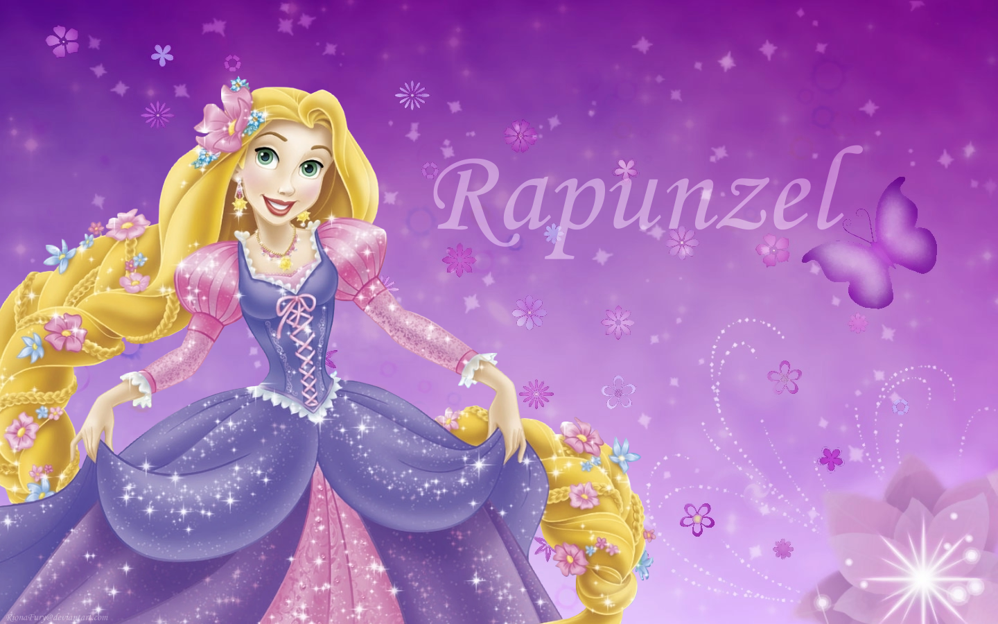 Rapunzel de Disney Wallpaper Disney Princess Rapunzel 1440x900