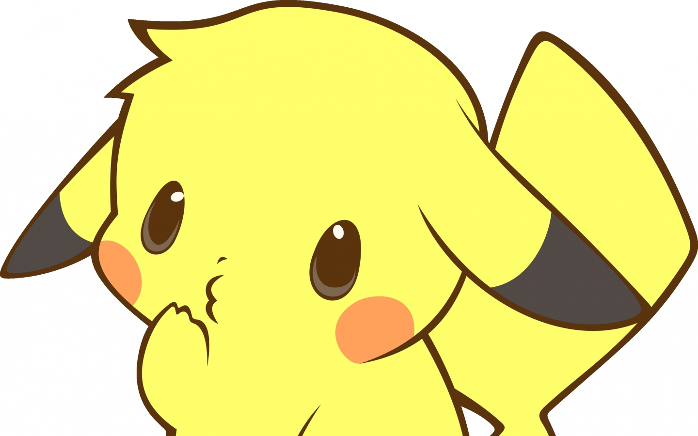 pokemon pikachu kawaii 3070x2635 wallpaper Quality WallpapersHi Res 1440x900