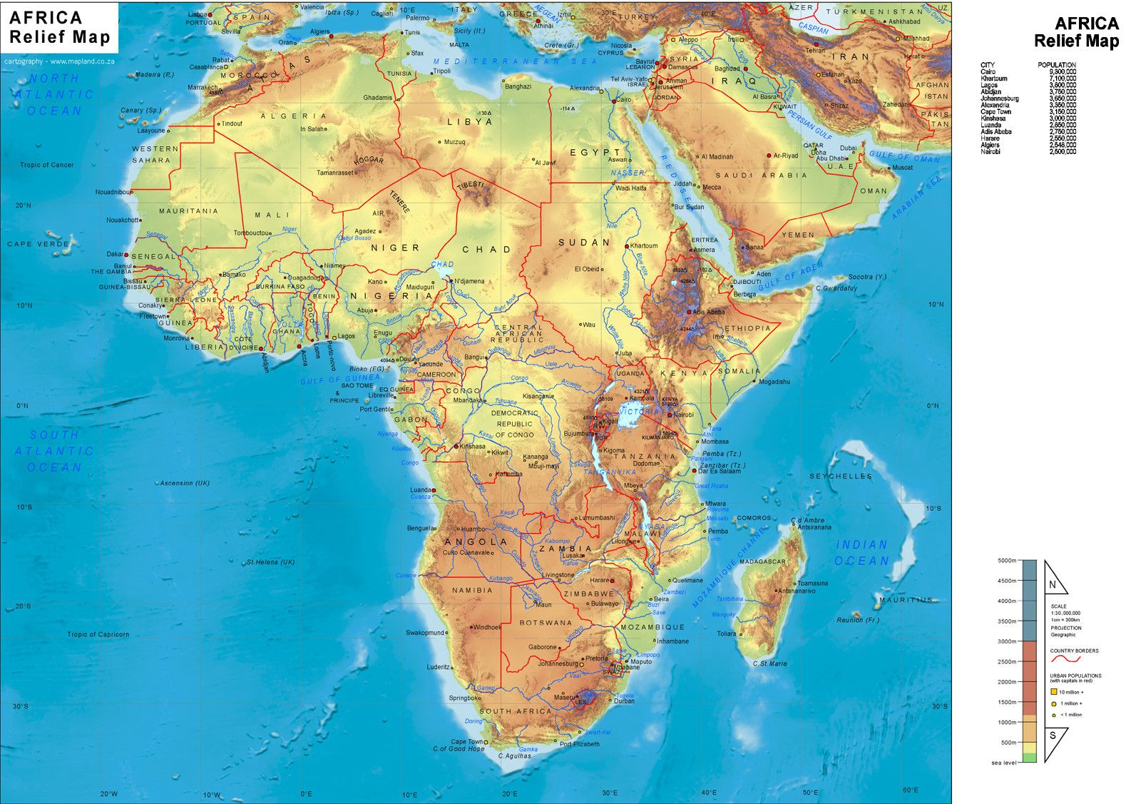 Africa Map Wallpapers 1593x1127